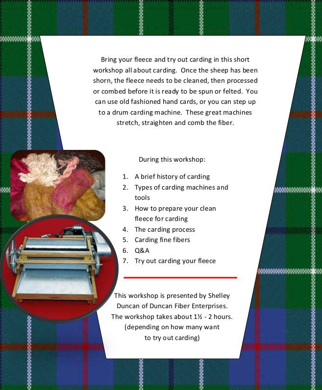 workshop flyer for new website